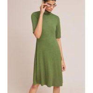 Anthropologie Ett:twa Coreyell Turtleneck Dress S